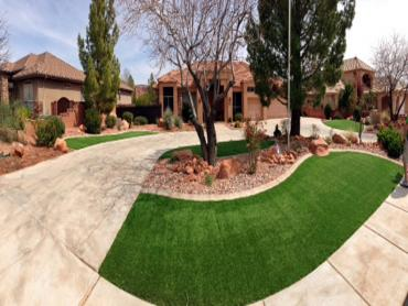 Artificial Grass Photos: Artificial Grass Carpet North Bay, Wisconsin Landscape Photos, Front Yard Design