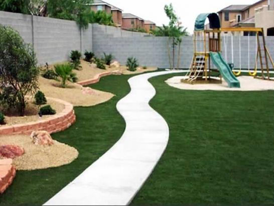 Fake Grass Rome Wisconsin City Landscape Backyard Design