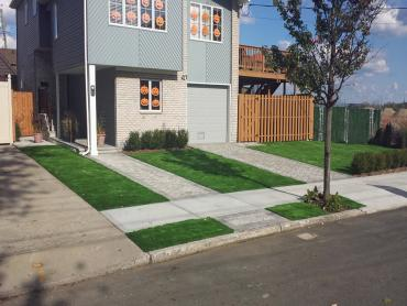 Artificial Grass Photos: Green Lawn Kenosha, Wisconsin Roof Top, Front Yard Landscaping Ideas