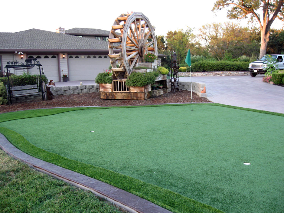 Synthetic Turf Plainfield, Wisconsin Backyard Putting Green, Landscaping  Ideas For Front Yard