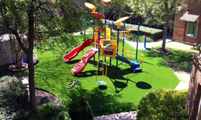 Artificial Grass for Playgrounds in Milwaukee