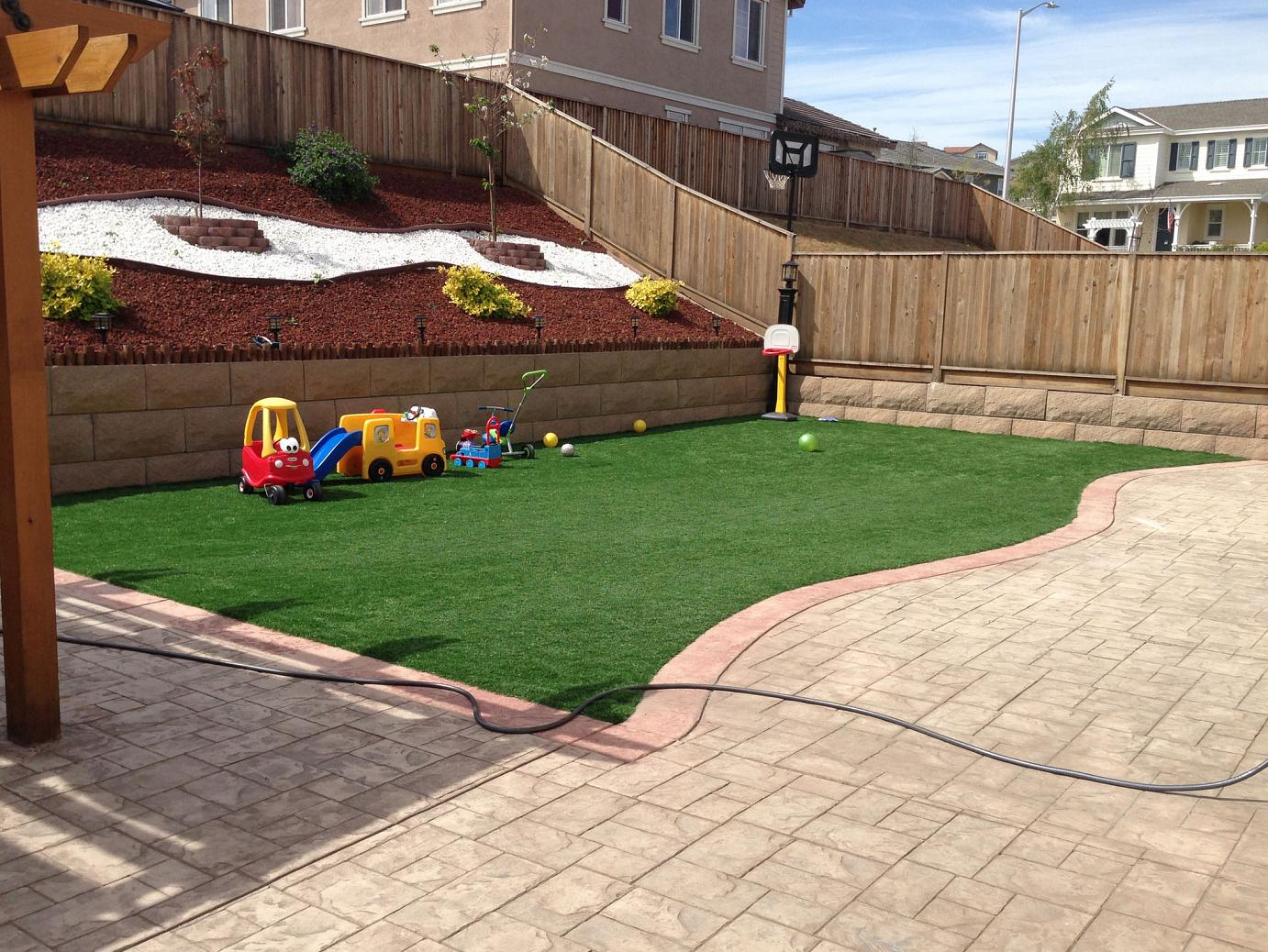 Synthetic Turf Hollandale, Wisconsin Playground Flooring ... on Artificial Turf Backyard Ideas id=97263
